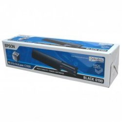 Epson oryginalny toner C13S050190. black. 4000s. Epson AcuLaser C1100. 1100N. CX11N. 11NF. 11NFC