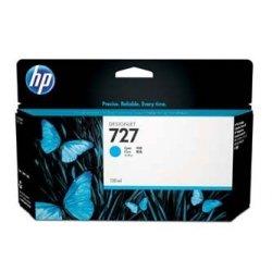HP oryginalny wkład atramentowy / tusz B3P19A. No.727. cyan. 130ml. HP DesignJet T1500. T2500. T920