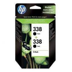 HP oryginalny wkład atramentowy / tusz CB331EE. No.338. black. 900 (2x450)s. 2x11ml. HP 2-Pack. C8765EE. PSC-1610. OJ-6210. DeskJet 6840 CB331EE