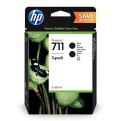 HP oryginalny wkład atramentowy / tusz P2V31A. No.711. black. HP Designjet T120 ePrinter. T520 ePrinter P2V31A