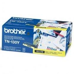 Brother oryginalny toner TN130Y. yellow. 1500s. Brother HL-4040CN. 4050CDN. DCP-9040CN. 9045CDN. MFC-9440C