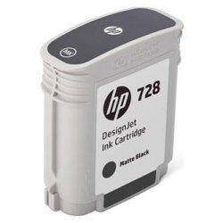 HP oryginalny wkład atramentowy / tusz F9J64A. No.728. matte black. 69ml. HP DesignJet T730. DesignJet T830. DesignJet T830 MFP F9J64A