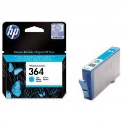 HP oryginalny wkład atramentowy / tusz CB318EE. No.364. cyan. 300s. HP Photosmart B8550. C5380. D5460 CB318EE