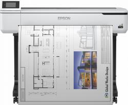 Drukarka wielkoformatowa LFP SC-T5100 36cali/A0/4-ink/4pl/GLAN/Stand
