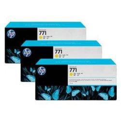 HP oryginalny wkład atramentowy / tusz CR253A. yellow. 3x775ml. No.771. HP 3-Pack. Designjet Z6200