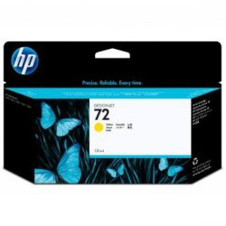 HP oryginalny wkład atramentowy / tusz C9373A. No.72. yellow. 130ml. HP Designjet T1100. T770 C9373A