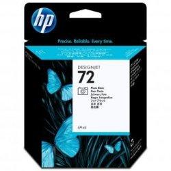 HP oryginalny wkład atramentowy / tusz C9397A. No.72. photo black. 69ml. HP Designjet T1100. T770