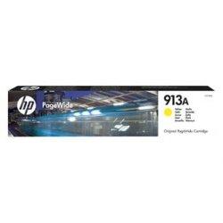 HP oryginalny wkład atramentowy / tusz F6T79AE. No.913A. yellow. 3000s. 37.5ml. HP PW Managed MFP P57750. P55250. PW Pro 452. 477. 55 F6T79AE