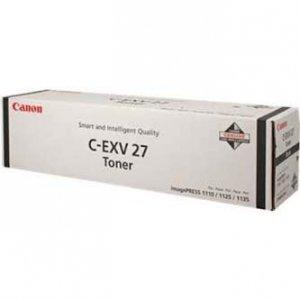 Canon oryginalny toner CEXV27. black. 47000s. 2784B002. Canon imagePRESS 1110. 1125. 1135 2784B002