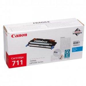 Canon oryginalny toner CRG711. cyan. 6000s. 1659B002. Canon LBP-5300 1659B002