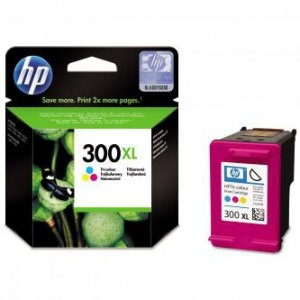 HP oryginalny wkład atramentowy / tusz CC644EE. No.300XL. color. 440s. 11ml. HP DeskJet D2560. F4280 CC644EE