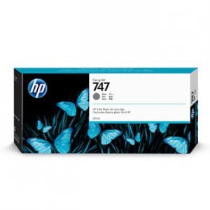 HP oryginalny ink P2V86A, HP 747, gray, 300ml, HP HP DesignJet Z9 P2V86A