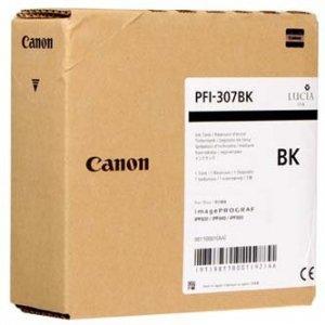 Canon oryginalny wkład atramentowy / tusz PFI307BK. black. 330ml. 9811B001. ploter iPF-830. 840. 850 9811B001