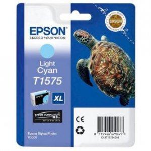 Epson oryginalny wkład atramentowy / tusz C13T15754010. light cyan. 25.9ml. Epson Stylus Photo R3000 C13T15754010