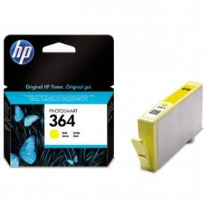 HP oryginalny wkład atramentowy / tusz CB320EE. No.364. yellow. 300s. HP Photosmart B8550. C5380. D5460 CB320EE