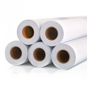 Płótno bawełniane, błyszczące 610mm, 18m, 360g/m2 IPB610/18/360B