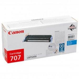 Canon oryginalny toner CRG707. cyan. 2000s. 9423A004. Canon LBP-5000 9423A004