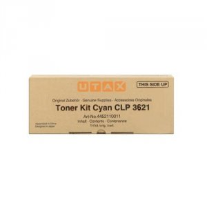 Utax oryginalny toner 4462110011. cyan. 5000s. Utax Utax CLP 3621. 4621. TA CLP3621 4462110011