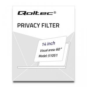 Filtr prywatyzujący RODO | 14 cale | 16:9 51051