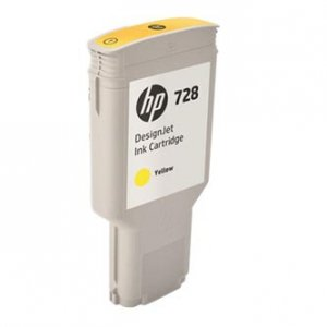 HP oryginalny wkład atramentowy / tusz F9K15A. No.728. yellow. 300ml. HP DesignJet T730. T830 F9K15A