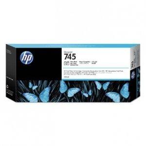 HP oryginalny ink F9K04A, HP 745, photo black, 300ml, HP DesignJet HD Pro MFP, DesignJet Z2600, Z5600 F9K04A