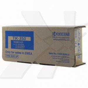 Kyocera Mita oryginalny toner TK350. black. 15000s. 1T02LX0NL0. Kyocera Mita FS-3920DN. 3040MFP. 3140MFP 1T02LX0NL0