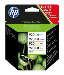 HP Tusz 920XL CMYK Ink Cartridge Combo Pack C2N92AE