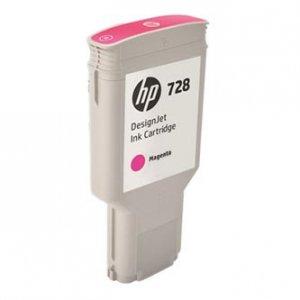 HP oryginalny wkład atramentowy / tusz F9K16A. No.728. magenta. 300ml. HP DesignJet T730. T830 F9K16A