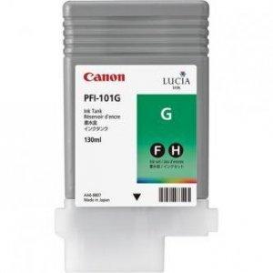 Canon oryginalny wkład atramentowy / tusz PFI101 Green. green. 130ml. 0890B001. ploter iPF-5000 0890B001