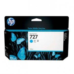 HP oryginalny wkład atramentowy / tusz B3P19A. No.727. cyan. 130ml. HP DesignJet T1500. T2500. T920 B3P19A