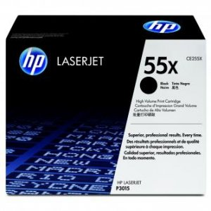 HP oryginalny toner CE255X. black. 12500s. 55X. HP LaserJet P3015 CE255X