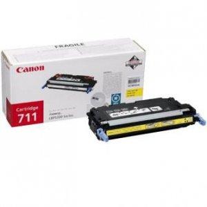 Canon oryginalny toner CRG711. yellow. 6000s. 1657B002. Canon LBP-5300 1657B002