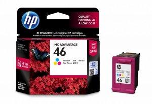 HP Wkład atramentowy 46 Tri-color Original Ink Adv Cart CZ638AE#BFW