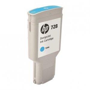 HP oryginalny wkład atramentowy / tusz F9K17A. No.728. cyan. 300ml. HP DesignJet T730. T830 F9K17A