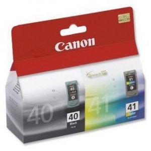 Canon oryginalny wkład atramentowy / tusz PG40/CL41 multipack. black/color. 16.9ml. 0615B051. blistr z ochroną. Canon iP1600. 2200. MP150. 170. 450 0615B051