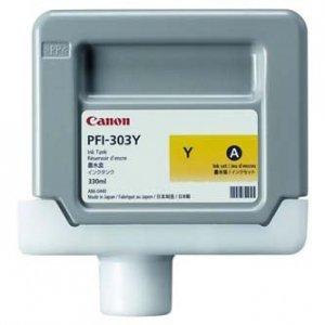Canon oryginalny wkład atramentowy / tusz PFI303Y. yellow. 330ml. 2961B001. ploter iPF-810. 820 2961B001AA