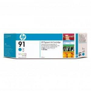 HP oryginalny wkład atramentowy / tusz C9467A. No.91. cyan. 775ml. HP Designjet Z6100 C9467A