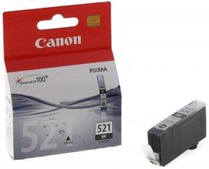 Canon oryginalny wkład atramentowy / tusz CLI521BK. black. 665s. 9ml. 2933B008. 2933B005. blistr z ochroną. Canon iP3600. iP4600. MP620. MP630. MP980 2933B008