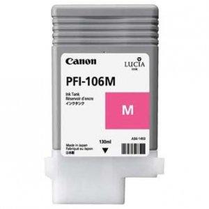 Canon oryginalny wkład atramentowy / tusz PFI106M. magenta. 130ml. 6623B001. ploter iPF-6300 6623B001
