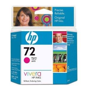 HP oryginalny wkład atramentowy / tusz 72 Magenta Ink Cart/Vivera Ink 69ml C9399A