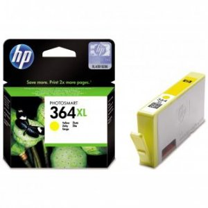 HP oryginalny wkład atramentowy / tusz CB325EE. No.364XL. yellow. 750s. HP Photosmart B8550. C5380. D5460 CB325EE