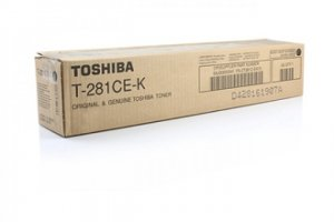 Toshiba oryginalny toner T281CEK. black. 20000s. Toshiba e-Studio 281c. 351e. 451e. 675g 6AJ00000041
