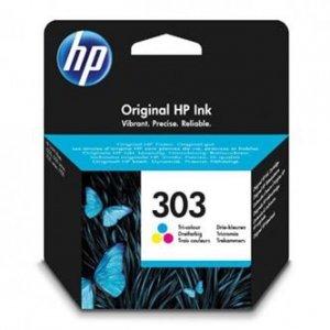 HP oryginalny ink / tusz T6N01AE, HP 303, color, 165s, HP ENVY Photo 6230, 7130, 7134, 7830