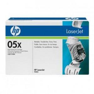 HP oryginalny toner CE505X. black. 6500s. 05X. high capacity. HP LaserJet P2055 CE505X