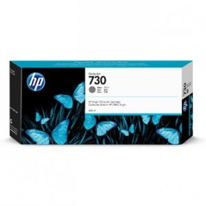 HP oryginalny ink P2V72A, HP 730, gray, 300ml, HP HP DesignJet T1700 44 printer series, T1700dr 44 P2V72A