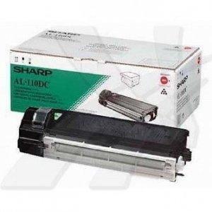 Sharp oryginalny toner AL-110DC. black. 4000s. Sharp AL-1217. 1255. 1457. 1555 AL-110DC