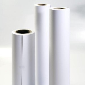 Powlekany papier w roli do plotera, 914mm x 30m, 120g PPP914x30/120