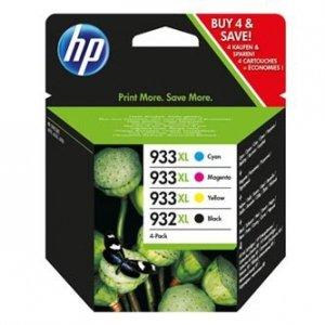 HP oryginalny wkład atramentowy / tusz blistr. C2P42AE#301. No.932XL/No.933XL. cyan/magenta/yellow/black. 825/1000s. 4szt. HP C2P42AE#301