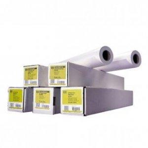Papier do plotera HP 814/45.7m/Bright White Inkjet Paper. 841mmx45.7m. 31.7. Q1444A. 90 g/m2. papier. biały. do drukarek atramentowych. rolka Q1444A
