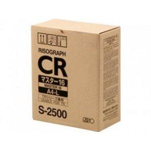 Riso oryginalny matryca S-2500. Riso CR/TR. A4. cena za 1 sztukę S-2500